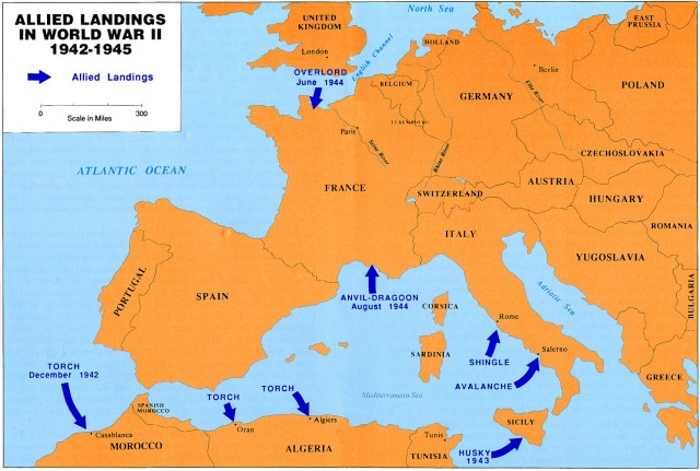 allied landings