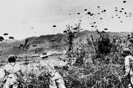 Parachuting Over Dien Bien Phu
